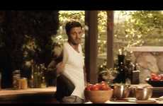 Sensual Salad Dressing Ads - The Let's Get Zesty Campaign Presents Kraft Italian Dressings