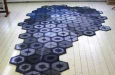 Repurposed Sweater Rugs - These Swedish Designers Turn Thrift Store Sweaters into Beautiful Rugs