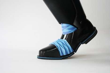 Ornate Origami Footwear