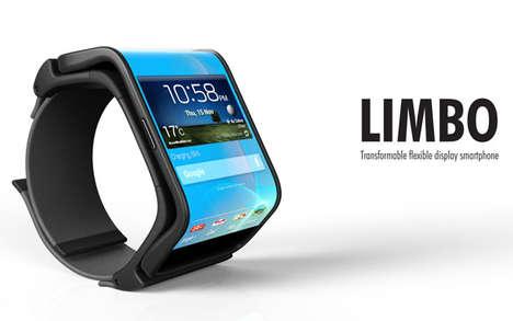 Malleable Wrist-Worn Mobiles