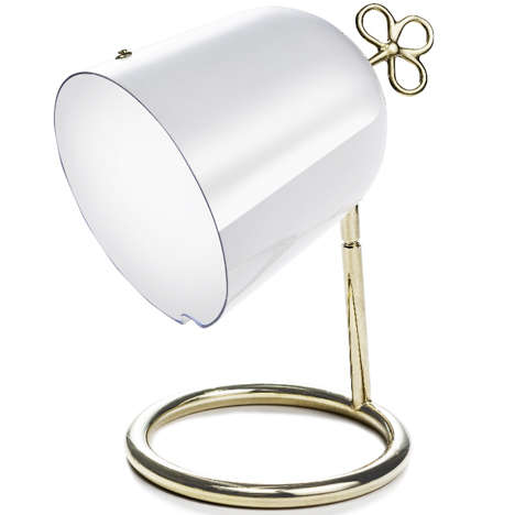 Compact Wind-Up Lamps