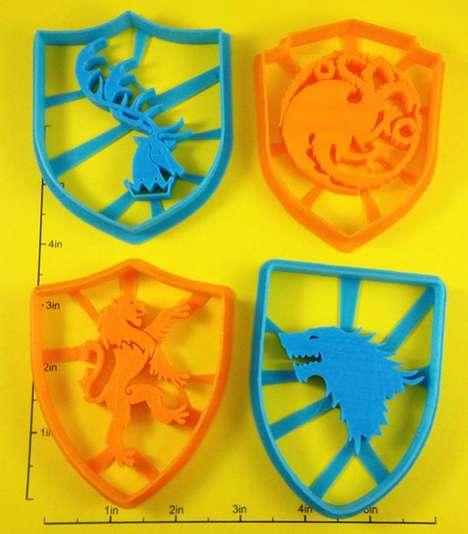Medieval Cookie Cutters