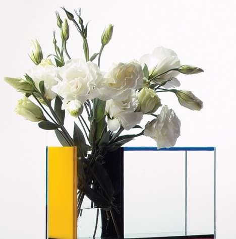 Geometric Flower Holders