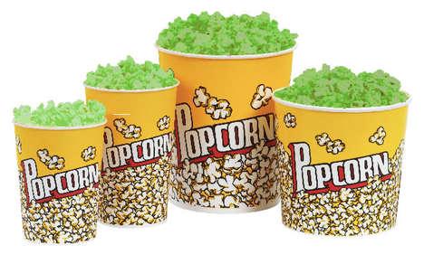 Glow-in-the-Dark Popcorn