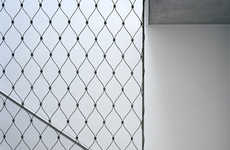 Chic Chain-Link Decor - Personeni Raffaele Scharer Architects are Taking Design Tips off the Streets