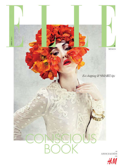 Edgy Floral Editorials