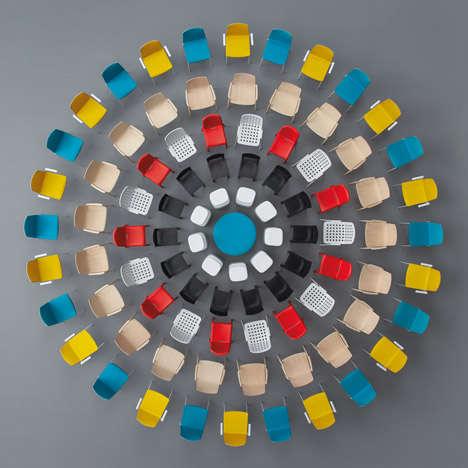 Vibrant Furniture Art