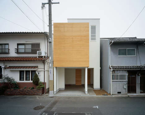 Minimalist Wood-Accented Residences