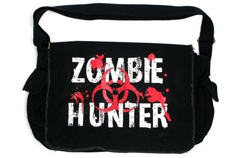 Zombified Messenger Bags
