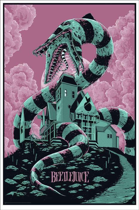 Ultra Stylized Movie Posters