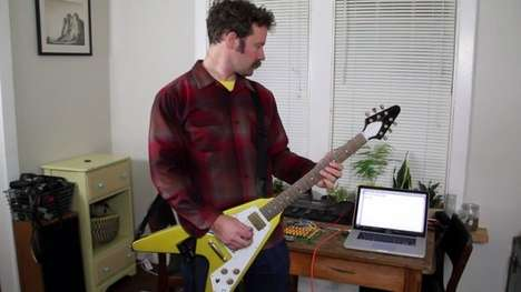 Shreddable Email-Typing Guitars