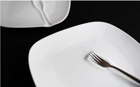 Utensil-Indented Dishes