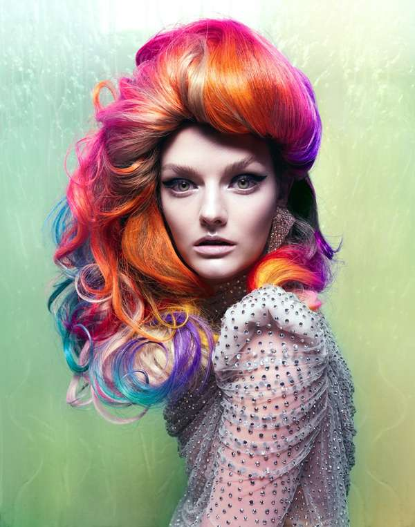 100 Sensationally Hued Hairdos