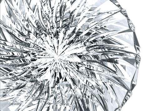 Dazzling Crystalline Chairs