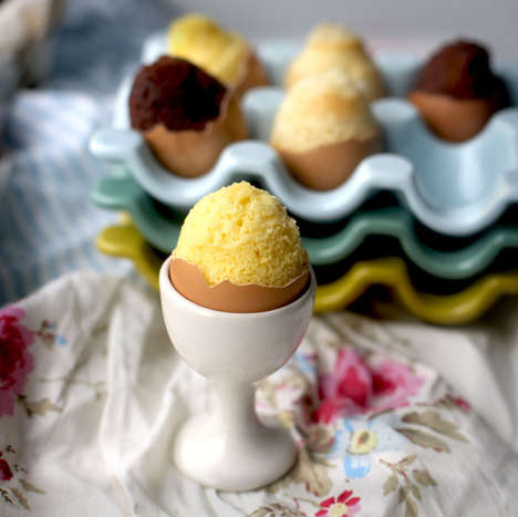 DIY Egg-Shaped Cakes - Buzzfeed's Easy-to-Bake Easter Treats Makes Use of Egg Shells