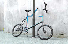 Frame-Integrated Bike Locks - The 'Lock. Bicycle' Needs No Add-On Security Accessories