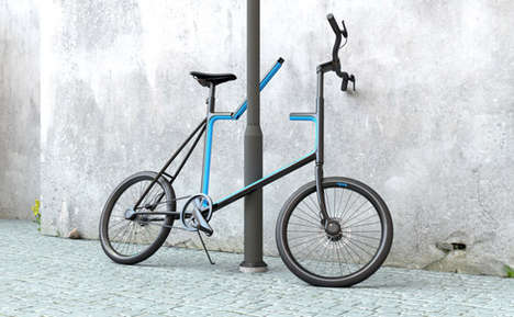 Frame-Integrated Bike Locks