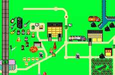 Game Plumber-Themed Maps - Ken Kocses' Super Mario-Themed Poster is the Ideal Map for Any Game