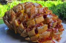 Pinecone-Mimicking Bread Feasts - Plain Chicken's Food Pull is a Nacho and Sandwich Hybrid