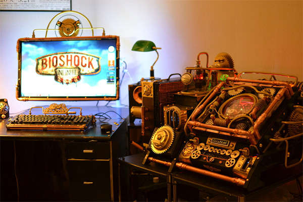 Steampunk-Inspired Computers