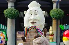 Country-Wide Egg Competitions - Lindt's the Big Egg Hunt Places 103 Eggs Throughout the UK