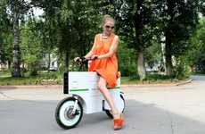 Boxy Battery-Powered Scooters - The Zeit Eco Takes You Places with Less Effort and No Emissions