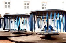 Calming Carousel Installations