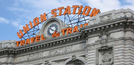 Repurposed Train Station Hotels - Union Station in Denver is Getting Resurrected as a Posh Hotel