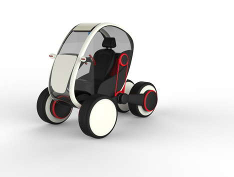 Electricity-Powered Subcompacts - The Future Personal Transportation System Encourages Eco Commuting