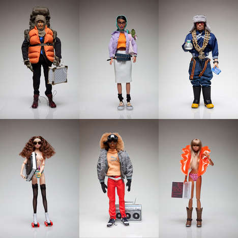Street Style Dolls - Fashion Figure Inc. Creates Decked-Out Toys with Envious Wardrobes