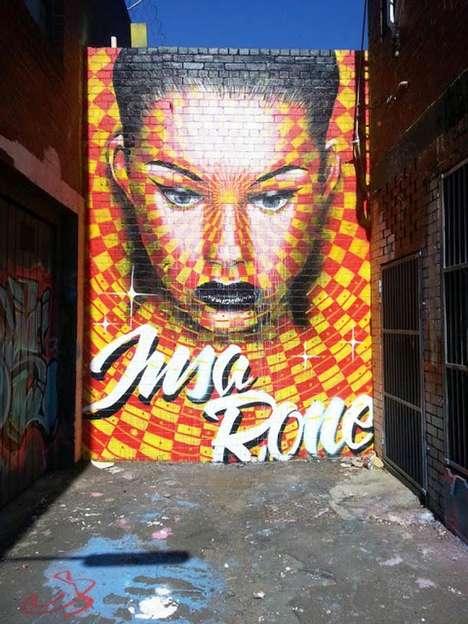 Stop Motion Street Art