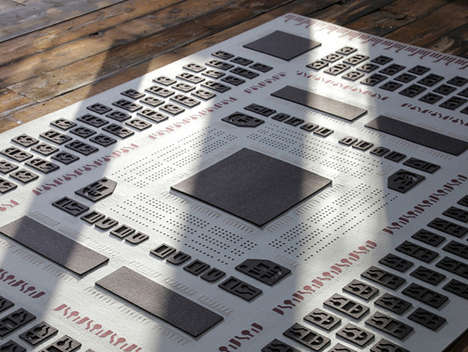 Computer Chip Carpets