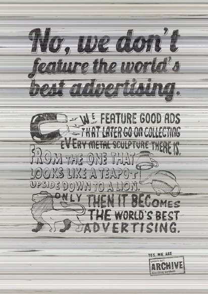 Stacked Paper Ads