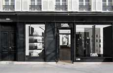 Social Media Concept Stores - The Karl Lagerfeld Concept Store in Amsterdam is More Than Clothes