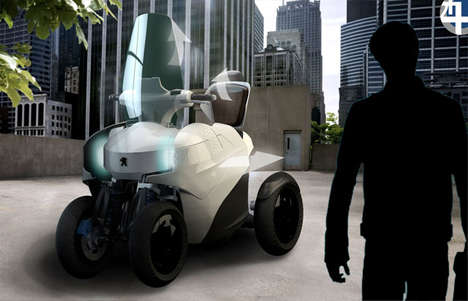 Enhanced Everyman Motorbikes - The Peugeot Scooter 2++ Attracts a New Demographic of Drivers