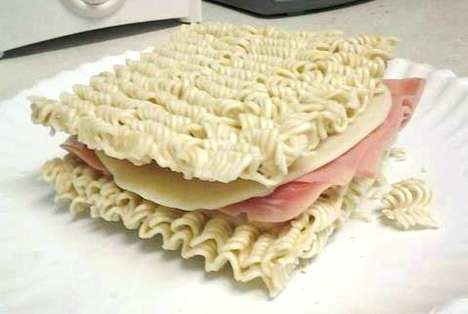 Nifty Noodle Sandwiches
