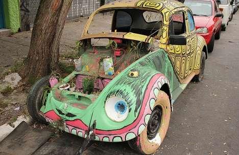 Abandoned Automobile Artwork
