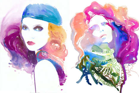 Fashionably Painted Muses