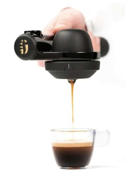 Compact Coffee Dispensers  - Perk Yourself Up at Anytime with the Handpresso Portable Coffee Machine