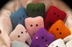 Cushioned Dental Accessories - These Custom Tooth Fairy Pillows by Hannalah Designs are Kid-Friendly