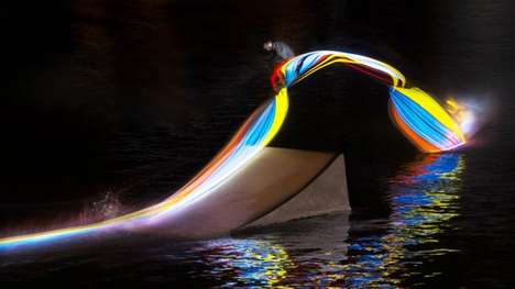 Illuminated Sport Path Captures