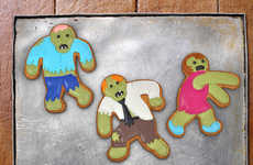 Zombie Baking Accessories - These Undead Fred Cookie Cutters Make For a Spooky Snack