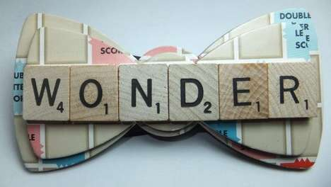 Quirky Upcycled Bow Ties
