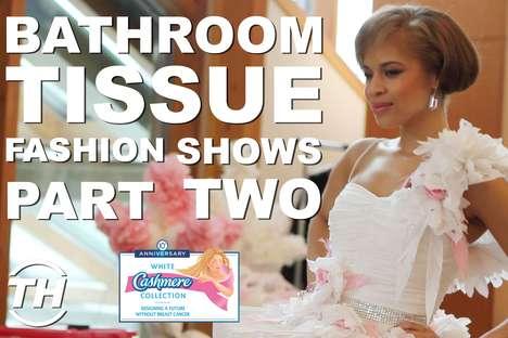 Bathroom Tissue Fashion Shows: Part II