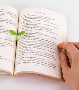 Planted Page Markers