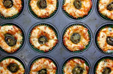 Cheese-Infused Cupcakes - The Cheddar And Jalapeno Muffins Recipe Updates Brunch