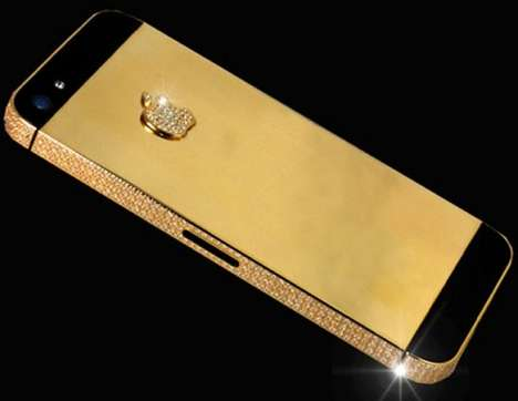 Gilded $15 Million Phones