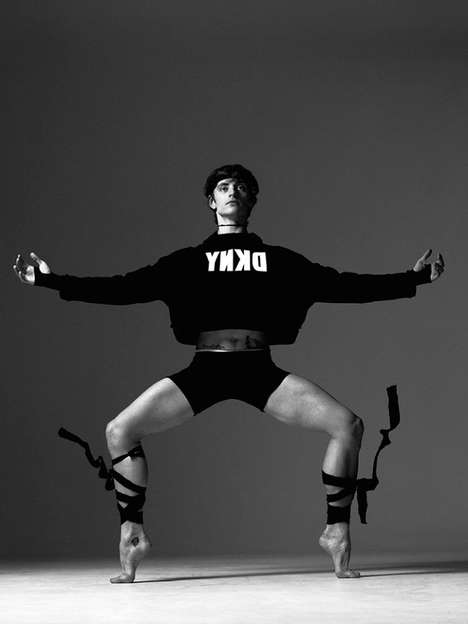 Dynamic Ballet Dancer Editorials