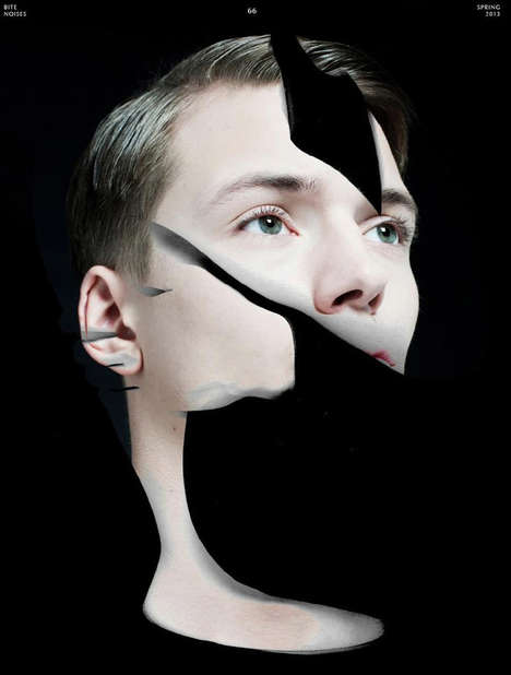 Face Fragmented Editorials