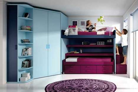 Rad Reconfigurable Bedrooms